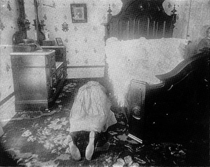 Abby Borden, as she was found